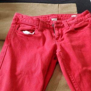 Arizona  red size 3 skinny